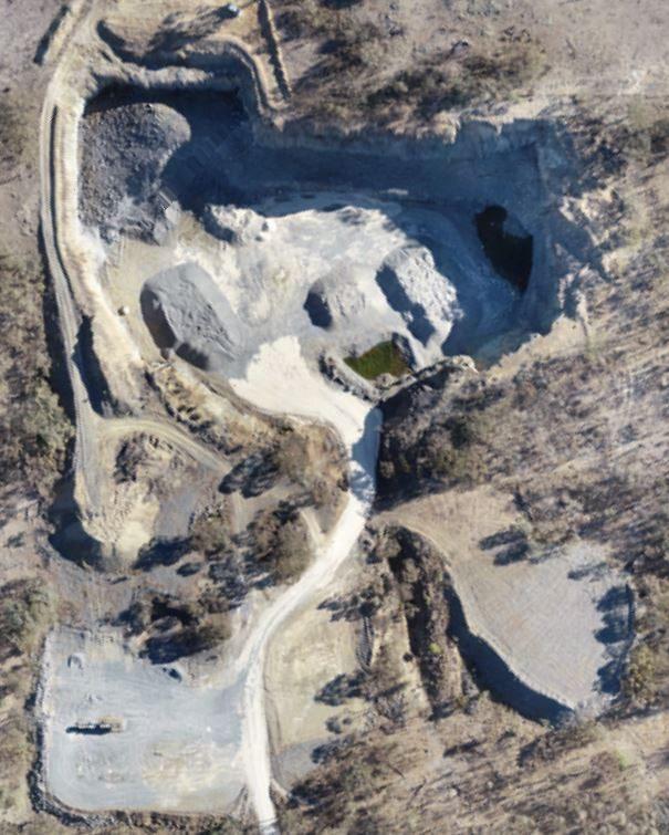 Aerial view - 19 Mile Quarry