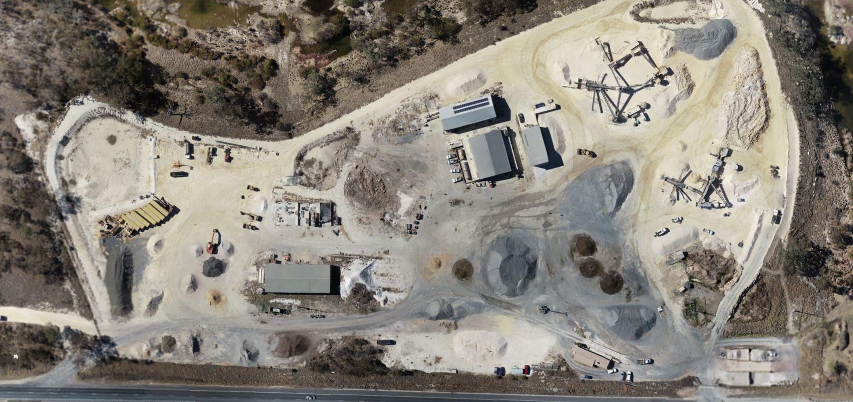 Sunnyside DMC quarry